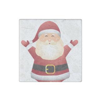 Santa Christmas Magnet- Kitchen Decoration or Gift ストーンマグネット