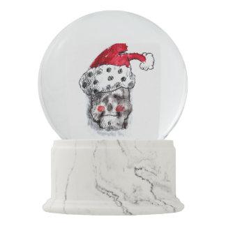 Santa Claus snow globe - Skull Santa スノーグローブ