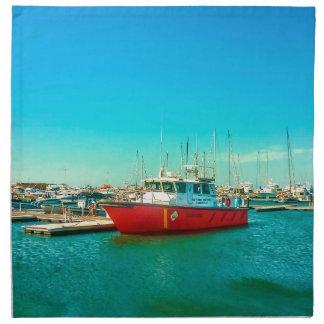 Santa Martaの港 ナプキンクロス