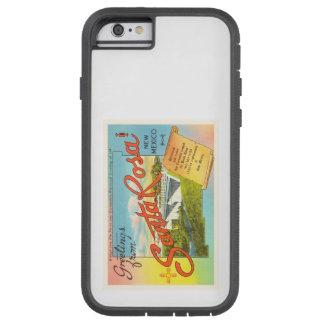 Santa RosaニューメキシコNMのヴィンテージ旅行記念品 Tough Xtreme iPhone 6 ケース