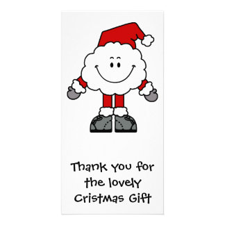 Santacloudの感謝 カード