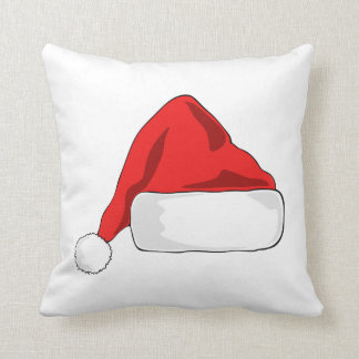 Santa's Hat double sided Cushion クッション