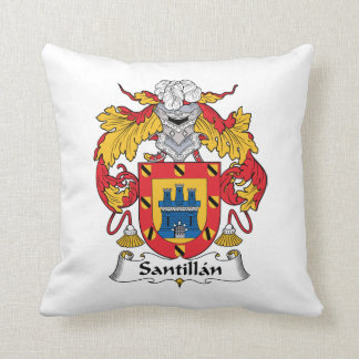 Santillanの家紋 クッション