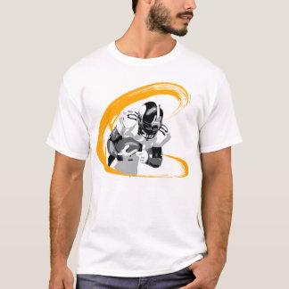 Santonio Holmesのイラストレーションのワイシャツ Tシャツ