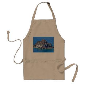 Santoriniの全景 スタンダードエプロン