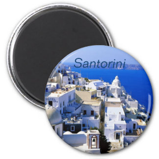 Santoriniの冷蔵庫用マグネット マグネット