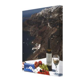 Santoriniの夢 キャンバスプリント