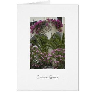 Santoriniの家 カード
