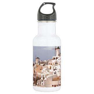 Santoriniの美しい 532ml ウォーターボトル