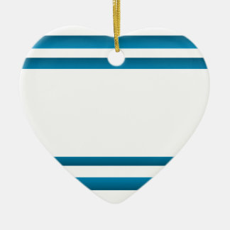 Santoriniギリシャの青いデザイン セラミックオーナメント