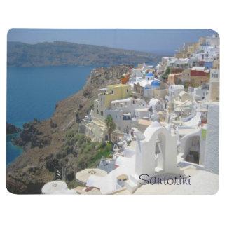Santoriniギリシャ2014の2015カレンダー ポケットジャーナル