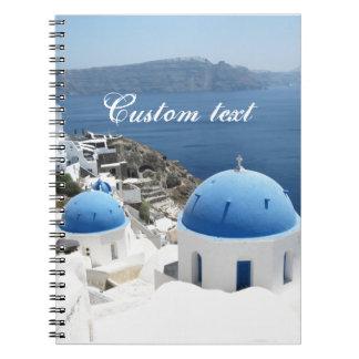 Santoriniギリシャ ノートブック