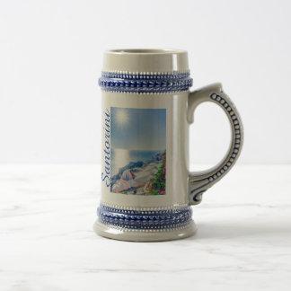 Santoriniギリシャ ビールジョッキ