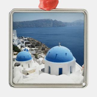 Santoriniギリシャ メタルオーナメント