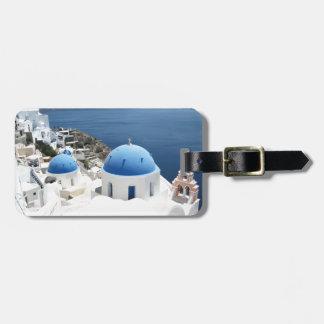 Santoriniギリシャ ラゲッジタグ