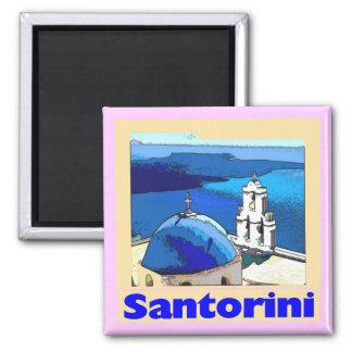 Santoriniポスター マグネット