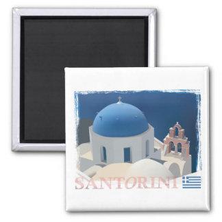 Santorini教会 マグネット