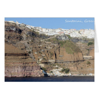 Santorini、ギリシャ カード