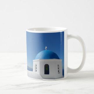 Santorini、ギリシャ コーヒーマグカップ