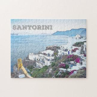 Santorini、ギリシャ ジグソーパズル