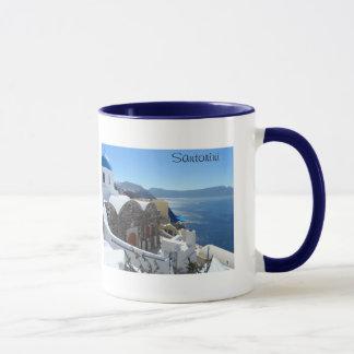 Santorini、ギリシャ マグカップ