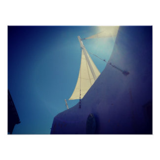 Santorini ポスター