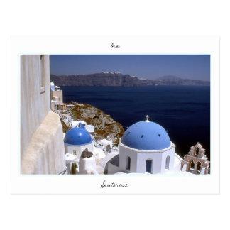 Santorini ポストカード