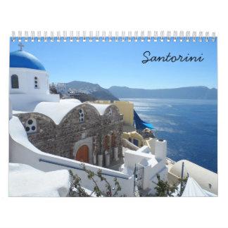 Santorini 2017年 カレンダー