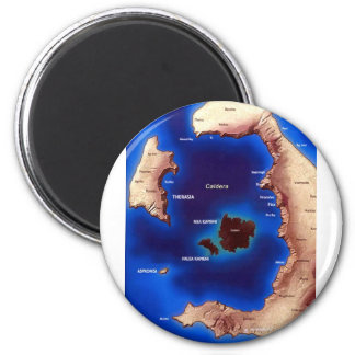 santorini-caldera-map.jpg マグネット