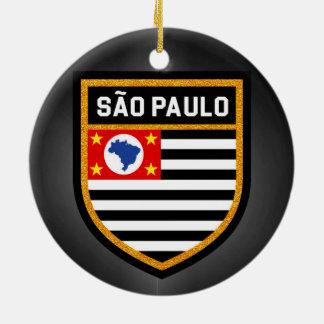 Sãoパウロの旗 セラミックオーナメント