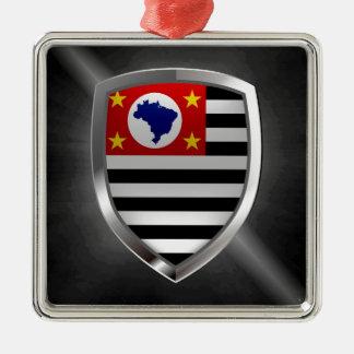 SãoパウロMettalicの紋章 メタルオーナメント