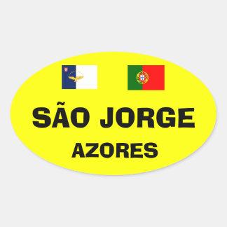 SÃO JORGE* EURO-STYLEの楕円形 楕円形シール