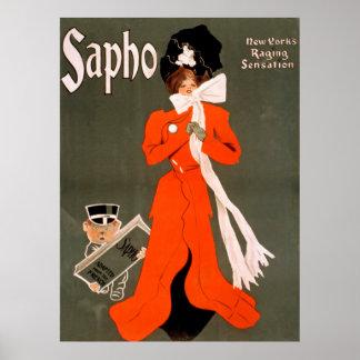 Saphoのヴィンテージポスター ポスター