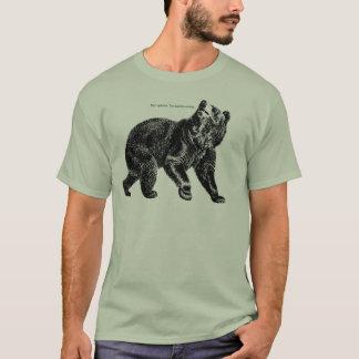 """Saracasticくまの""""ニースの意見。 余りに悪いそれは間違っています tシャツ"""