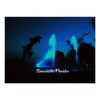 Sarasotaフロリダ ポスター