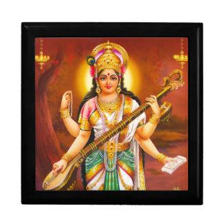 Saraswatiのタイルのギフト用の箱-バージョン2 ギフトボックス