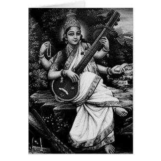 Saraswatiナマステ カード