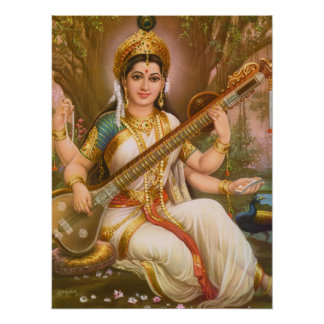 Saraswatiポスター ポスター