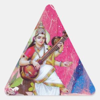 Saraswati 三角形シール