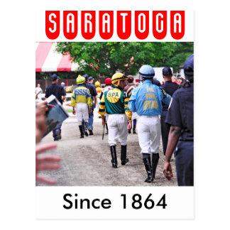 Saratogaのジョッキー ポストカード