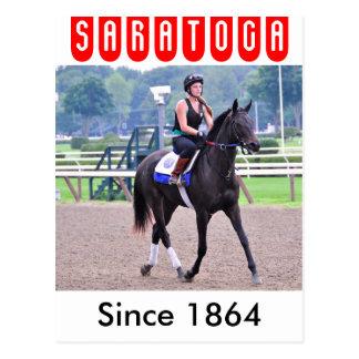SaratogaのトムAlbertraniの朝のトレーニング ポストカード