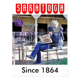 Saratogaの一般公開日 ポストカード