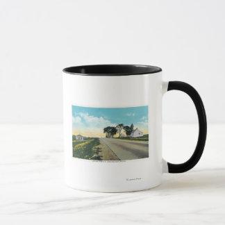Saratogaの戦場の北の眺め マグカップ