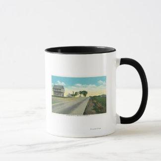 Saratogaの戦場の南眺め マグカップ