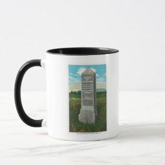 Saratogaの戦場の素晴らしい峡谷 マグカップ