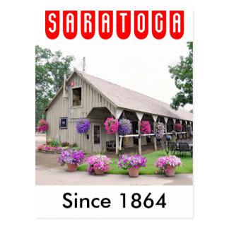 Saratogaの歴史的な馬小屋 ポストカード