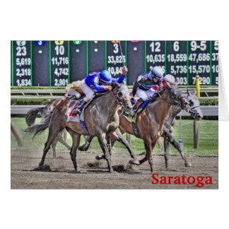 Saratogaの競馬 カード