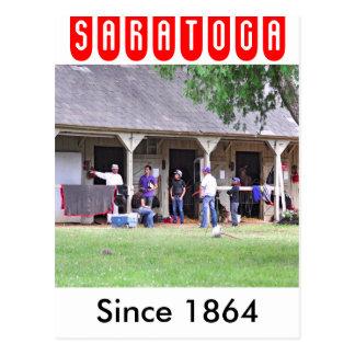 Saratogaの馬小屋の納屋#39 ポストカード