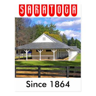 SaratogaのGodolphin及びDarleyの馬小屋 ポストカード