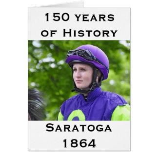 SaratogaのRosie Napravnik カード